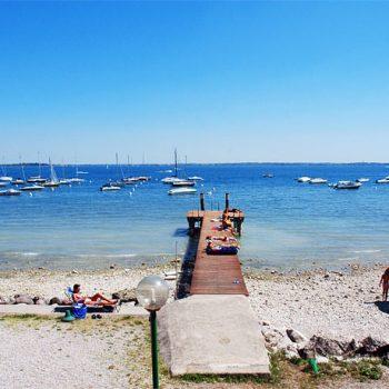 Spiaggia di Vista di Moniga del Garda