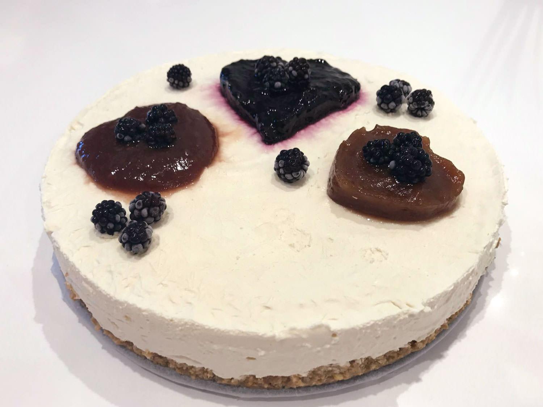 Cheesecake Vegan Ohana Holidays